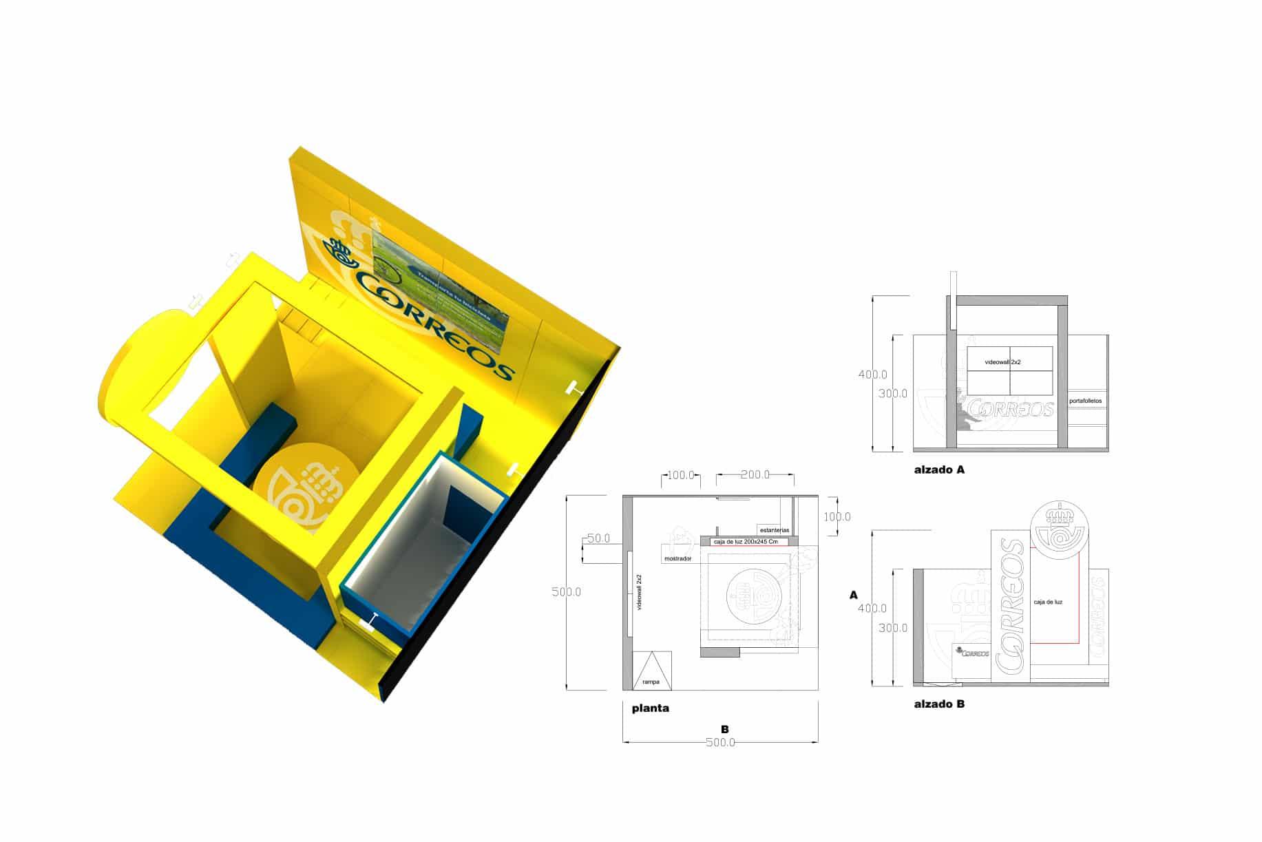diseño y montaje de stands