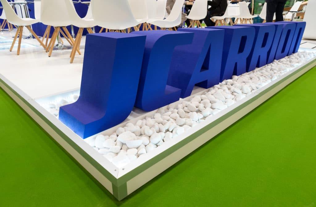 Diseño y montaje de stand JCARRION | FRUIT ATTRACTION | 2019 MATERIA EFÍMERA