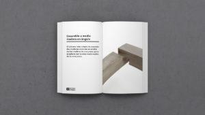 Definición de Ensamble a media madera en angulo-Glosario-MATERIA-EFIMERA-STANDS
