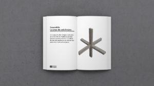 Definición de Ensamble de la cruz de 6 brazos - la cruz del diablo