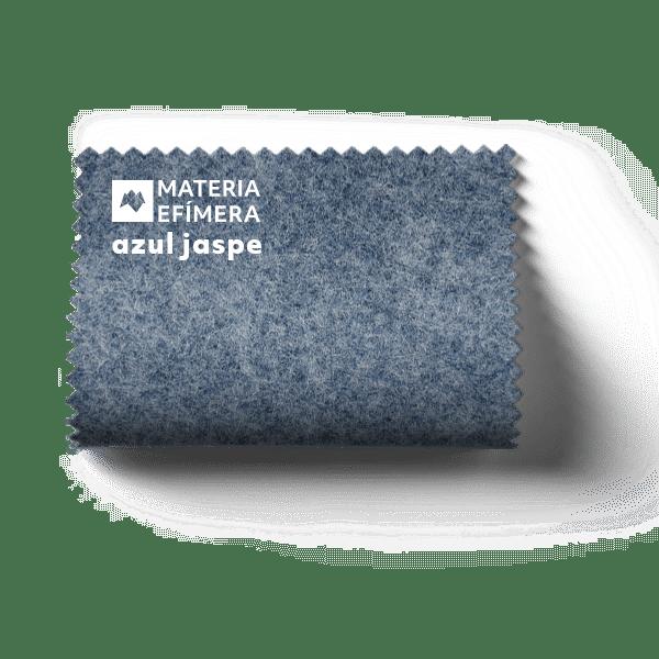 Moqueta ferial azul jaspe - Muestra moqueta color azul jaspe -PANTONE 2167 Ul-MATERIA-EFÍMERA-STANDS