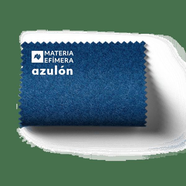 Moqueta ferial azulón - Muestra moqueta color azulón -PANTONE 647 C-MATERIA-EFÍMERA-STANDS