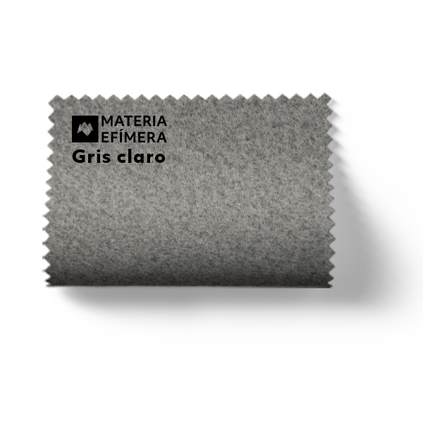 Moqueta ferial gris claro - Muestra moqueta color gris claro-PANTONE Cool Gray 6 CP-MATERIA-EFÍMERA-STANDS