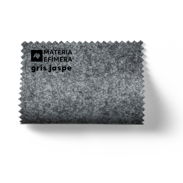 Moqueta ferial gris jaspe- Muestra moqueta color gris jaspe-PANTONE Cool Gray 6 CP-MATERIA-EFÍMERA-STANDS
