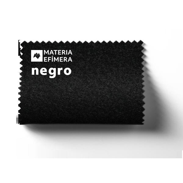 Moqueta ferial negro- Muestra moqueta color negro -PANTONE Black 6 C-MATERIA-EFÍMERA-STANDS