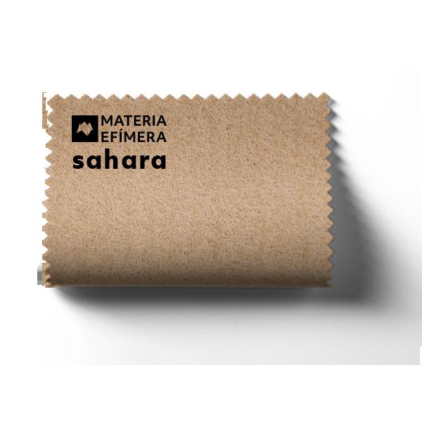 Moqueta ferial sahara- Muestra moqueta color beige sahara-PANTONE 726 C-MATERIA-EFÍMERA-STANDS