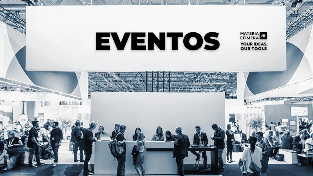 Organizacion de eventos-MATERIA-EFIMERA-STANDS-tipos de eventos