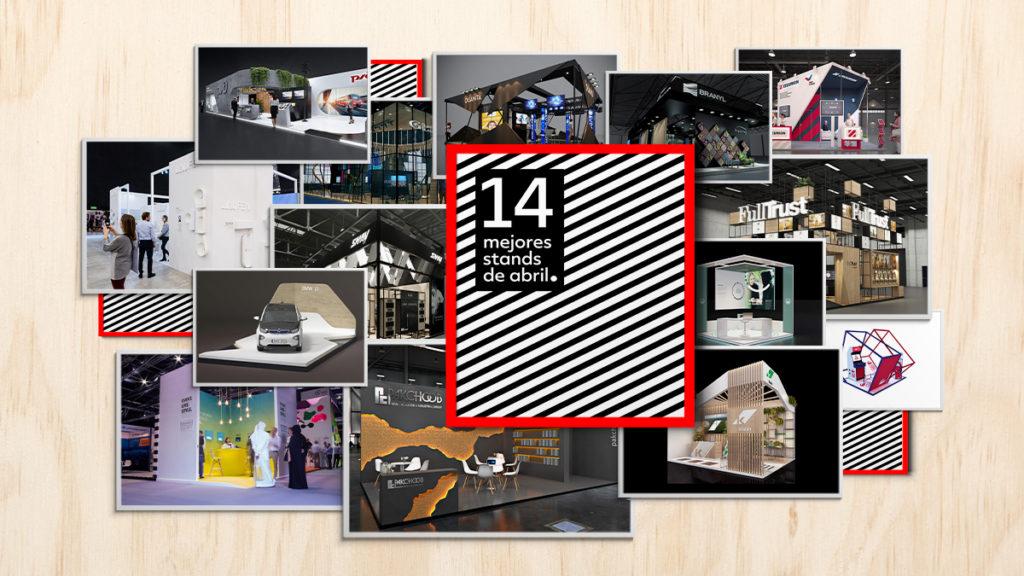 Los 14 mejores stands de diseño de abril-diseñador de stands