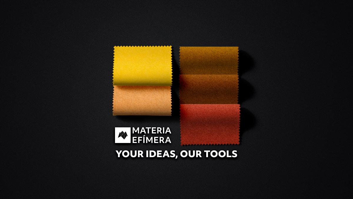 Moquetas de feria tonos amarillos-Moquetas feriales amarillas- Muestras moqueta color amarillo--MATERIA-EFÍMERA-STANDS