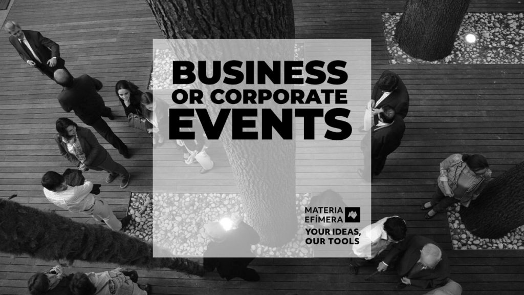 BUSINESS OR CORPORATE EVENTS
