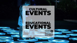 cultural events and educational events-MATERIA-EFIMERA-STANDS- post