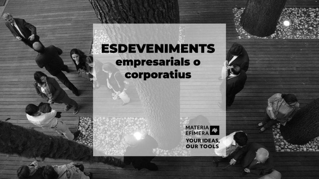 esdeveniments corporatius o empresarials-MATÈRIA-EFIMERA-estands-