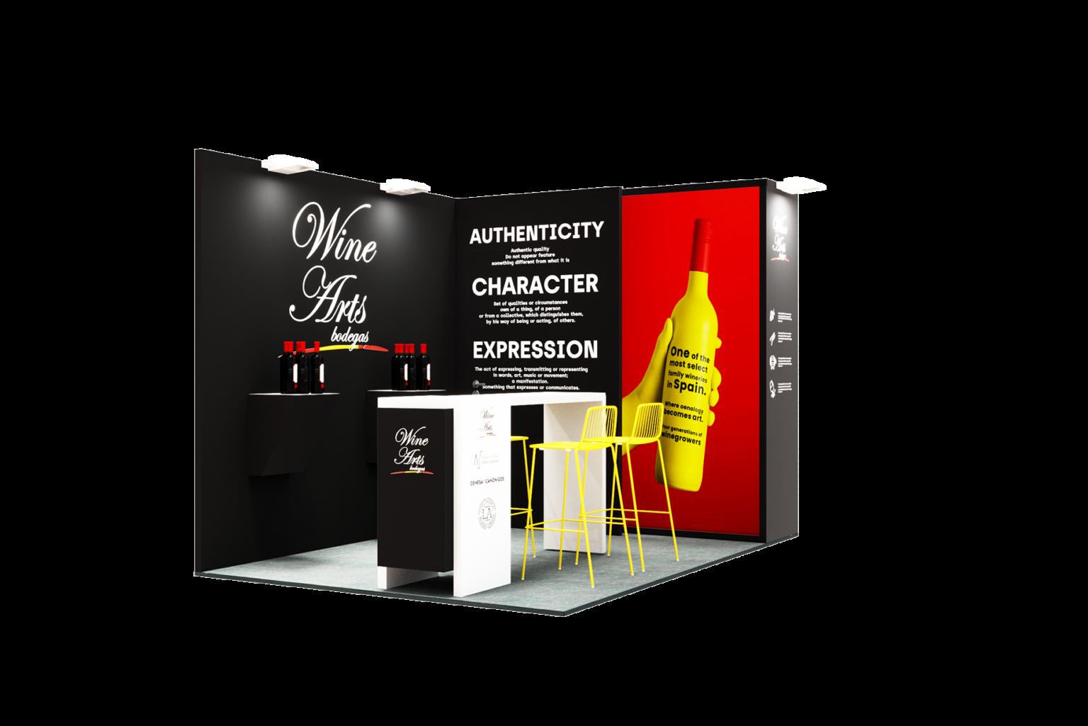 propuesta-diseño-de-stands-STAND-WINE-ARTS--PROWEIN-DUSSELDORF-2020-MATERIA-EFIMERA