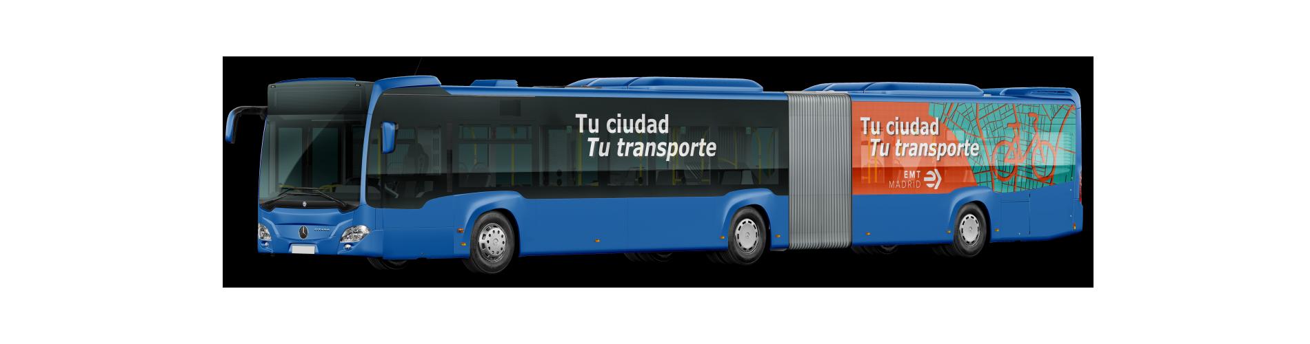 Campaña Tu ciudad, tu transporte EMT Madrid